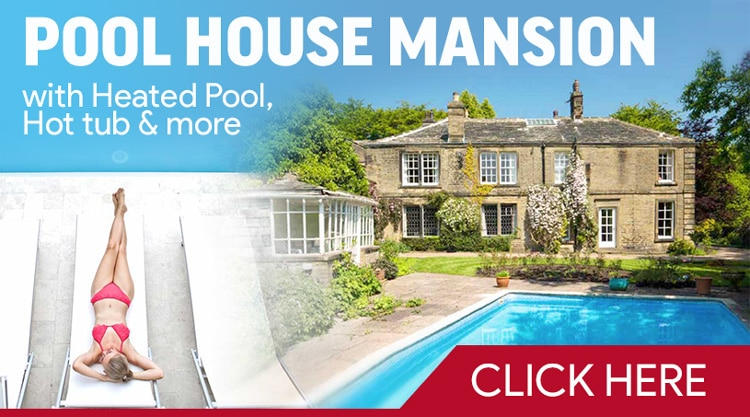 Pool House Mansion